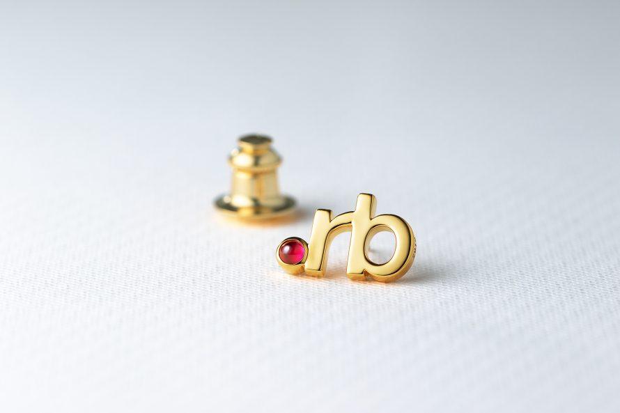 Pin Badge Sponsor RubyKaigi 2018の画像