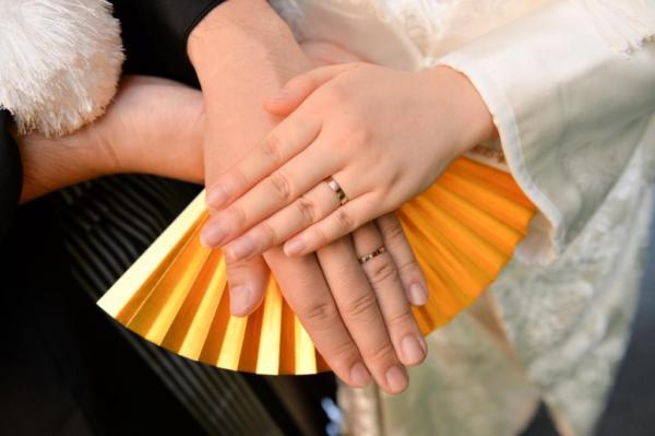 結婚式一か月前の画像