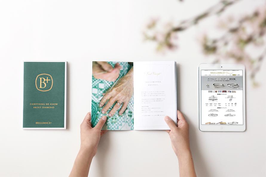 ブリリアンス+の新しいコンセプトブックの画像