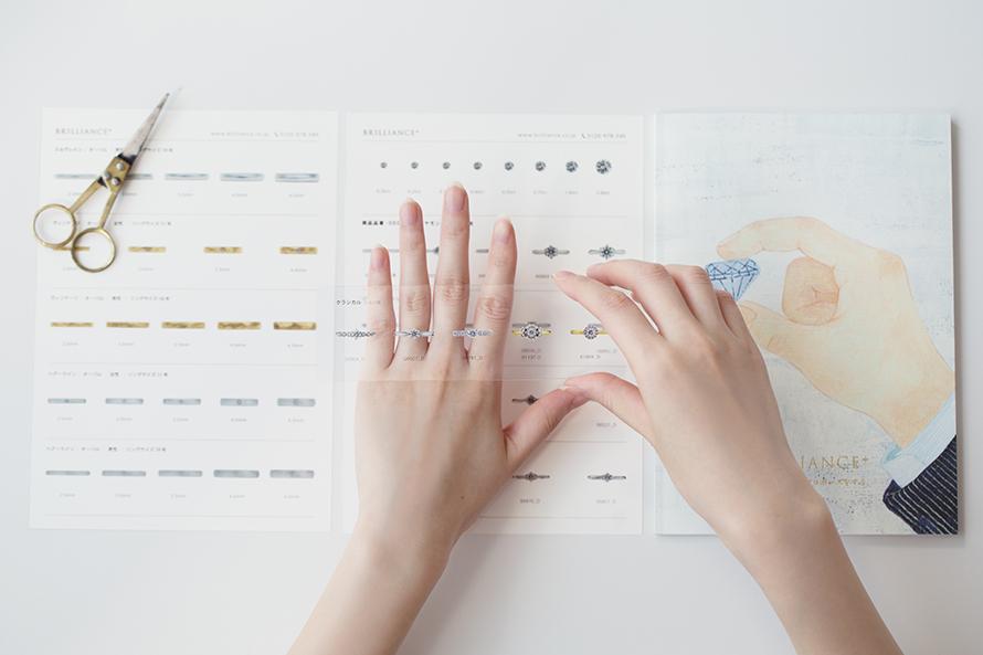 婚約指輪・結婚指輪のイメージがつかない!その時は、、の画像
