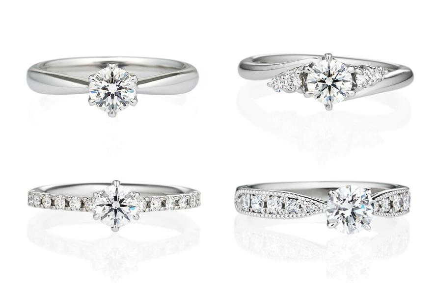 婚約指輪(エンゲージリング)のデザインの選び方の画像