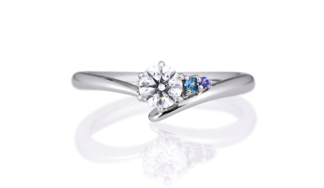 誕生石で婚約指輪を・・・の画像