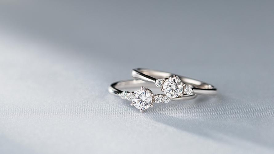 大人気の婚約指輪(エンゲージリング)が新しくなってデビュー!の画像