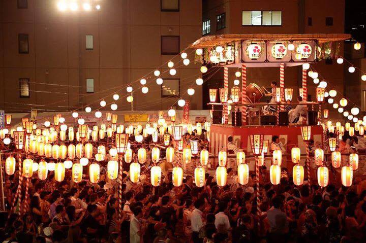 築地本願寺納涼盆踊り大会の画像